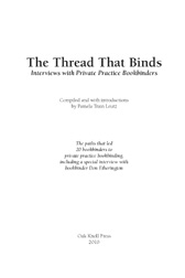 The Thread That Binds book