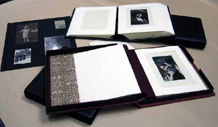 Samples of Photo Album and Album Page Structures