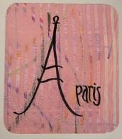 "Pamela Wood. ""Paris Valentine."" 2019, Original Paste Paper and Calligraphy"